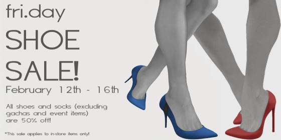 fri.day Shoe Sale! - 2_12 - 2_16